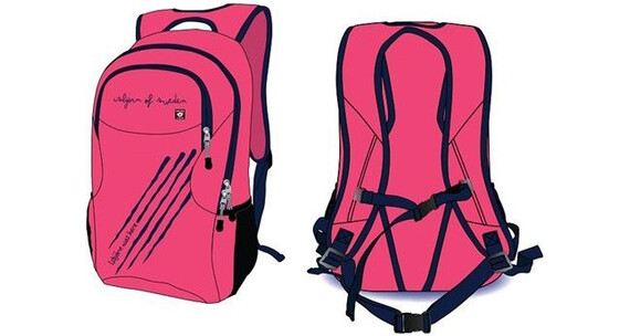 Isbjörn Stortass MIDI Backpack Blueberry Smoothie